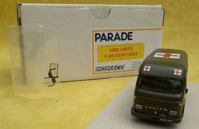 Collector : Saviem SG 2 ambulance au 1:50 (Parade)