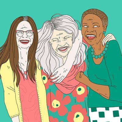 Et les femmes de plus de 50 ans? On en parle?!