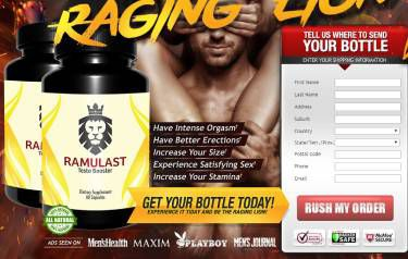 Ramulast - This #No.1 Pills For Boost Sexual Power! {Review By Shark Tank}!