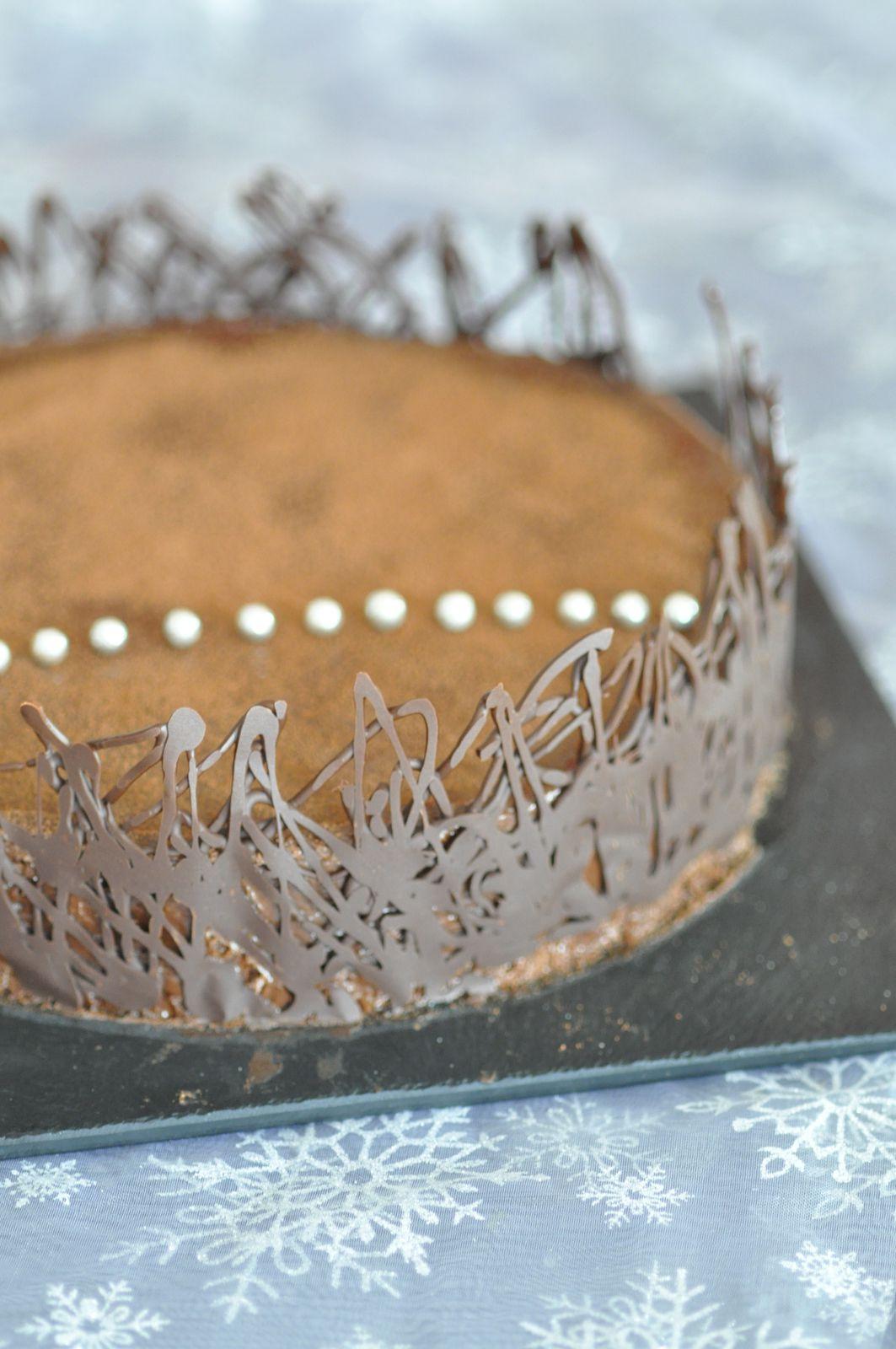 Gâteau double chocolat, une seule pâte deux textures...