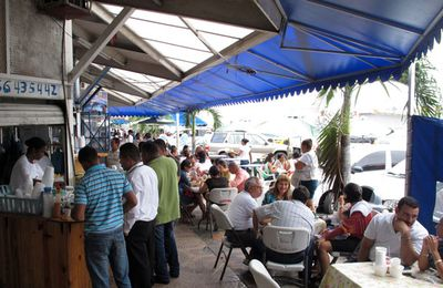 Les cevicherías du Mercado de Mariscos (marché aux poissons) de Panama.
