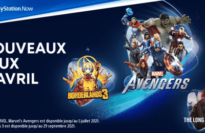 Les jeux PlayStation Now d'avril 2021