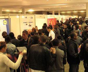 Forum emploi le 14 avril 2015 au Stade de France à Saint-Denis