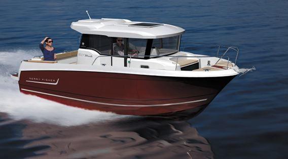 Nautic 2012 - les nouveaux cabin-cruisers et pêche promenade (4/6)