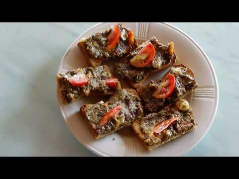 aubergine a tartiner