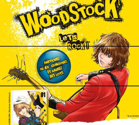 Woodstock (le tome 1 à gagner)