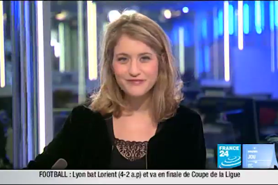 2012 02 01 @06H30 - PAULINE PACCARD, FRANCE 24, PARIS DIRECT