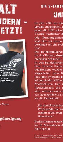 VVN-Sachsen 18.11.11 -- NPD und alle Nazis verbieten