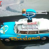 CITROEN ID 19 SKIS ROSSIGNOL GAMME NOREV COLLECTION 1/43 - car-collector.net