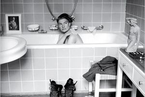 Taking a Bath in Hitler's Tub for Vogue