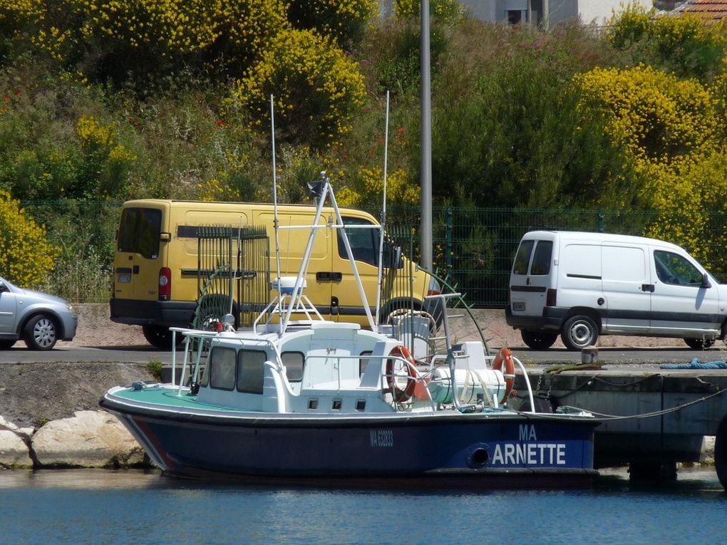ARNETTE , vedette de balisage à port de Bouc