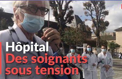 Hôpital: « On a mis des pansements sur des jambes de bois »