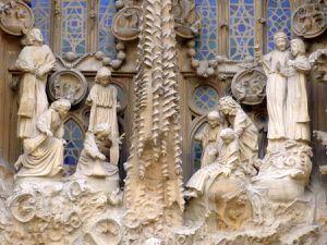 Détails de la façade de la Nativité (avril 2015, images personnelles)