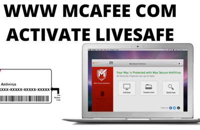 www mcafee com activate livesafe Antivirus Protection