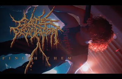 VIDEO - Nouveau clip de CATTLE DECAPITATION
