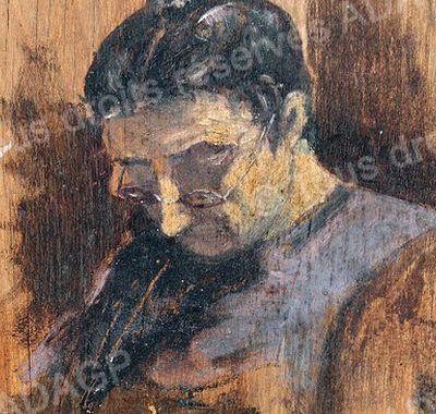 """""""Portrait de ma mère"""" par JEAN MARC"""