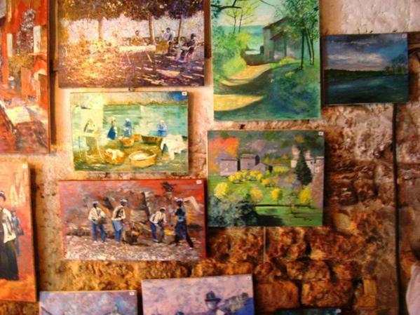 Album - Journée des peintres Combles Juin 2008