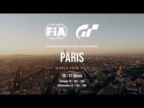 [ACTUALITE] Liens des streams français des FIA Gran Turismo Championship 2019 à Paris