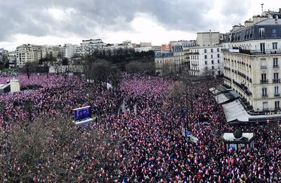 Trocadéro - Fillon : Qui n'a pas vu ça , n'a pas vécu !