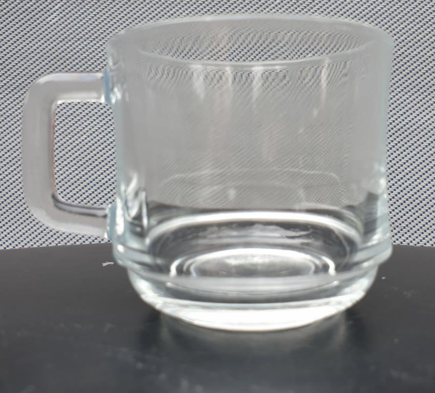 Set 11 tasses Duralex vintage verre transparent - 12 euros