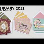 Bouquet of Hope: Paper Pumpkin February 2021