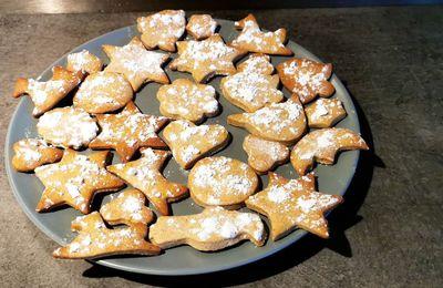 Recette biscuits de noël à la cannelle.