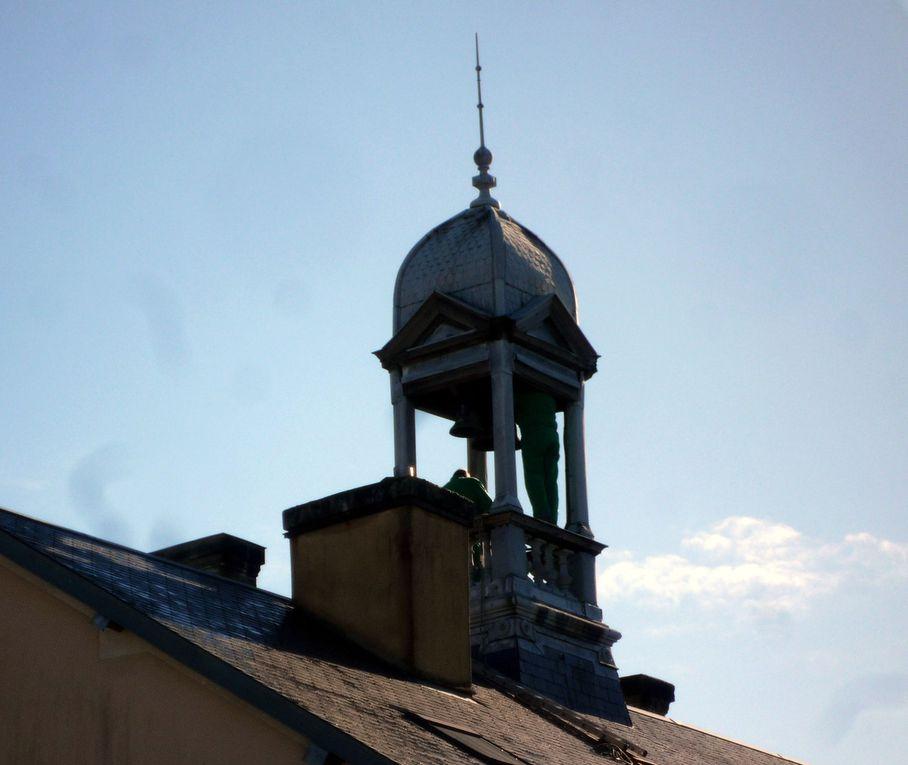 Le campanile présente quelques faiblesses !