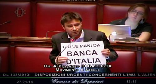 Le balle di Grillo su BankItalia