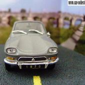FASCICULE N°29 CITROEN AMI 6 M35 COUPE 1970 1/43 UNIVERSAL HOBBIES - car-collector.net