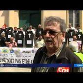 """Manifestation de soutien aux """"amiantés d'Arjuzanx"""""""