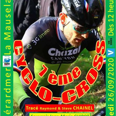7ème Cyclo-cross 26 septembre 2020