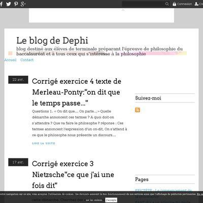 Le blog de Dephi