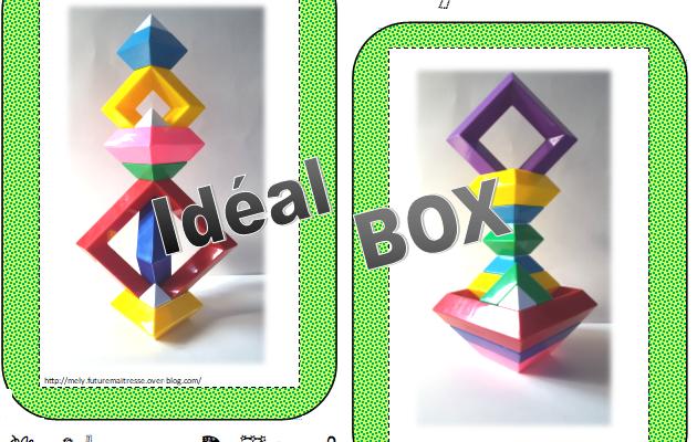 Ideal Box : jeu de la pyramide