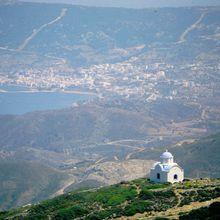 Karpathos en mai, Dodécannèse, Grèce.