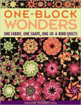 """One block wonder"" quilt pour les 30 ans de France Patchwork"