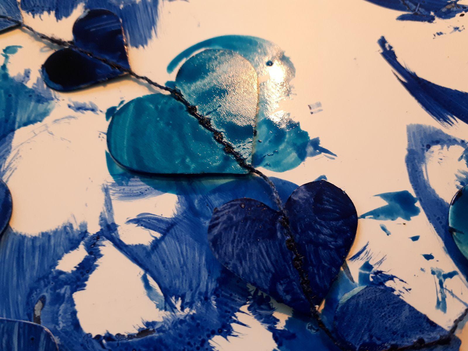 Toujours du bleu