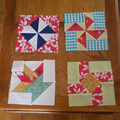 Patchwork block 12 à 15