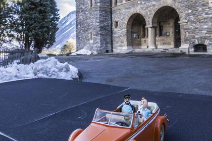 visite surprise au château mercier