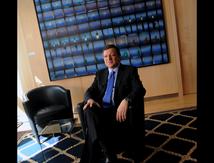Barroso dans un fauteuil. Littéralement.