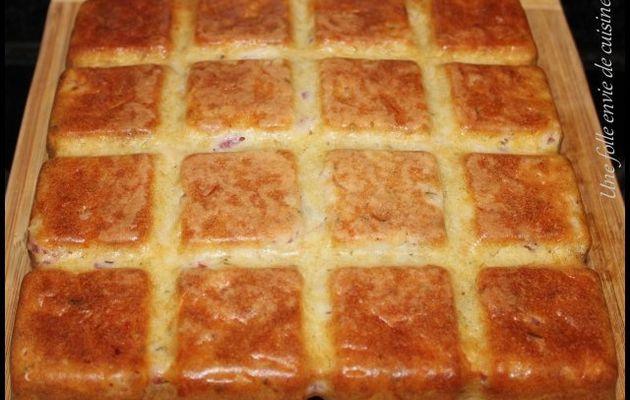 Cake aux lardons et comté