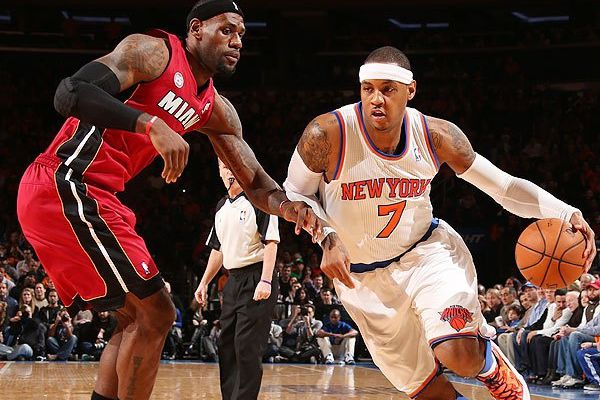 Writer explains why his MVP vote went to Carmelo Anthony over LeBron James