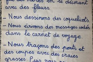 Journal des parents chez K2