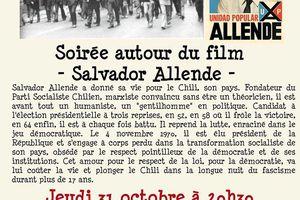 Ciné-débat autour du film SALVADOR ALLENDE