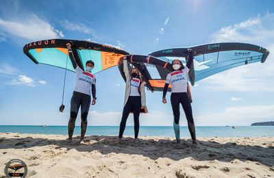 GWA Wingfoil World Cup Leucate 2021 at Mondial du Vent | Surf-Freestyle podium