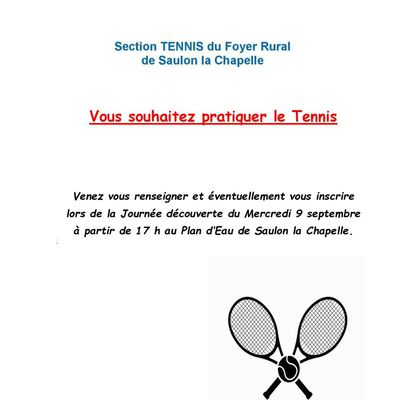Section TENNIS