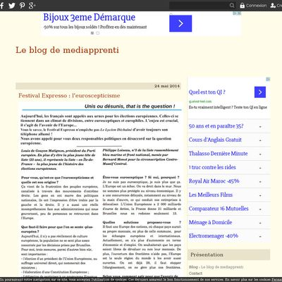 Le blog de mediapprenti