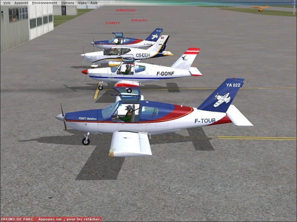 Images aviation virtuelle...