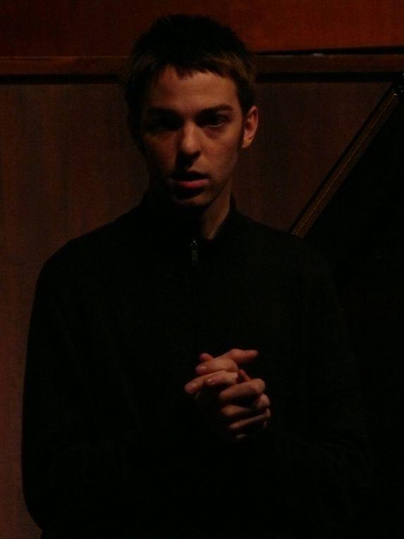 récital de fin d'étude de evan shinners à Juilliard, NY