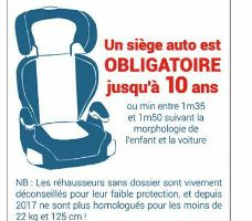 La sécurite en voiture pour les bébés et les plus grands !