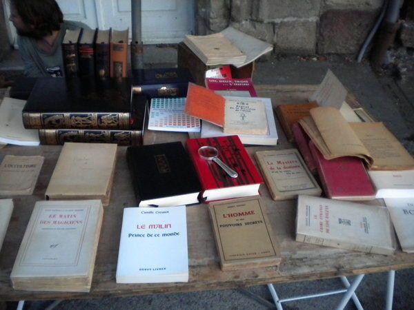 Un petit tour à Bécherel, Cité du Livre...